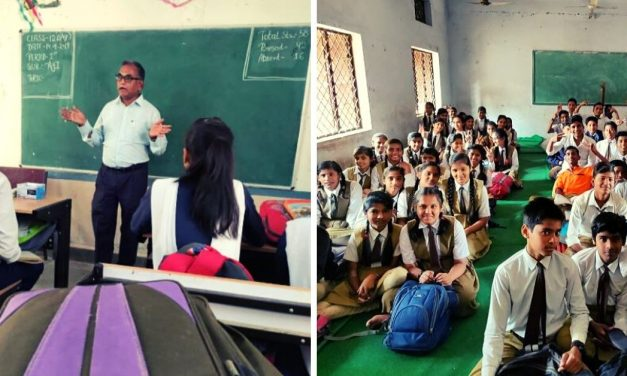 MP IAS Initiates Volunteering-Based Teaching to Uplift Schools, 300+ Volunteer!