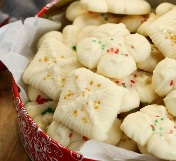 Old Fashioned Spritz Cookies