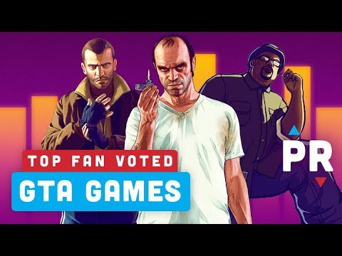 Your Top 5 GTA Games – Power Ranking