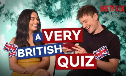 How Much Does Vanessa Hudgens Know About A British Christmas? | The Knight Before Christmas