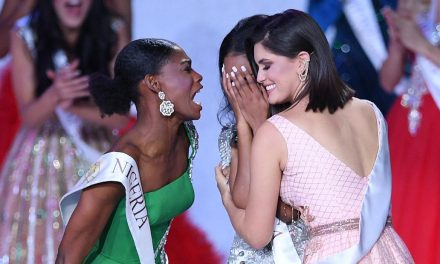 Miss Nigeria had the best reaction to Jamaica winning the Miss World title and we're all inspired