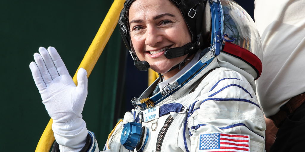 Incredible photo shows an astronaut celebrating Hanukkah from space