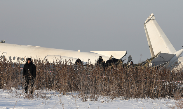 Plane with 100 on board crashes in Kazakhstan killing at least 14, authorities said