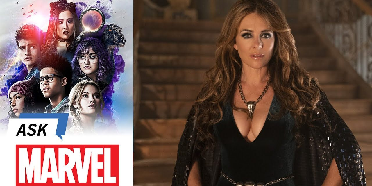 Elizabeth Hurley answers YOUR Questions! | Ask Marvel