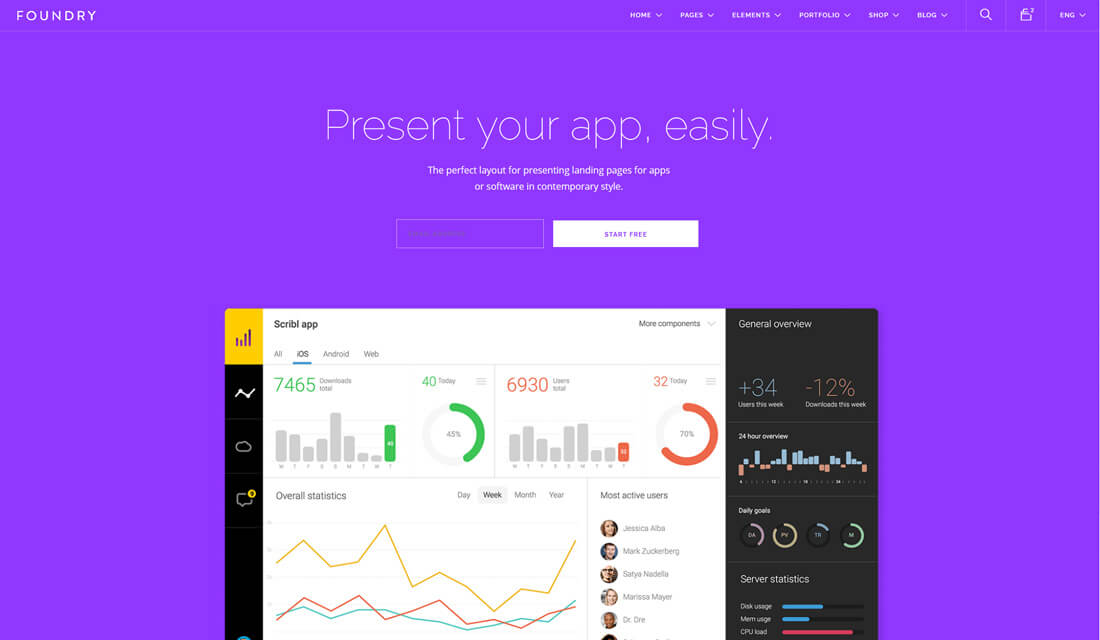 37 Best Software Company Website Templates For Startups and Enterprises 2019