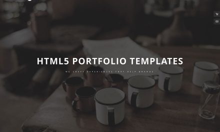 36 Best Portfolio Website Templates Based on HTML & WordPress To Showcase Your Creative Work Online 2019