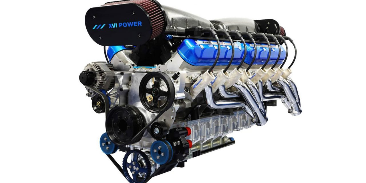 This 2,200 HP Quad-Turbo 14.0L V16 Boat Engine Is Ready For The Mother Of All Swaps