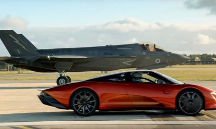 Top Gear Season 28 Trailer Shows A Car Bungee Jump And A Fighter Plane Race