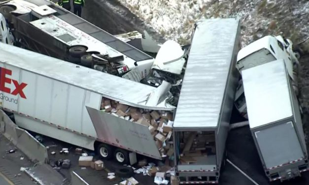 Massive pileup in Pennsylvania kills 5 and injures about 60 others