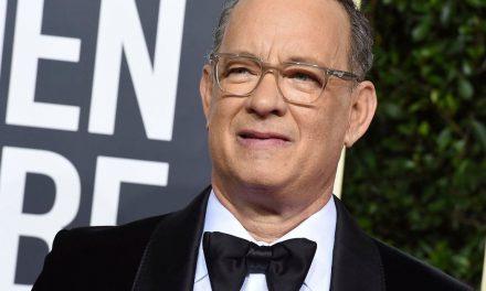 Tom Hanks' Golden Globe speech made absolutely everyone cry