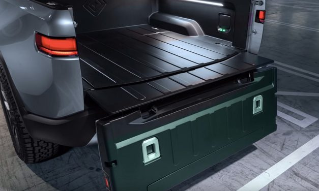 The Rivian R1T Pickup Could Feature An Innovative Tailgate