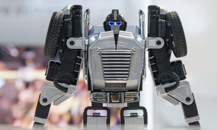 This real-life Transformer might be one of the coolest robot toys ever made