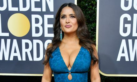Salma Hayek Wows on the Red Carpet at Golden Globes 2020