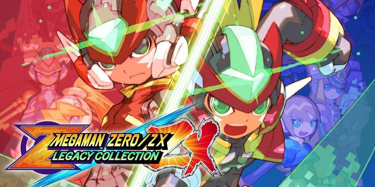 Mega Man Zero/ZX Legacy Collection trailer