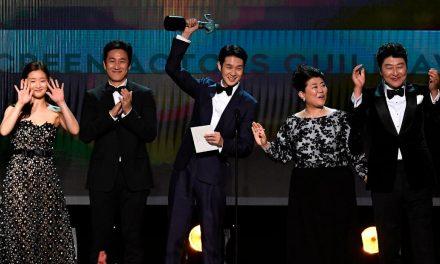 'Parasite' makes SAG Award history