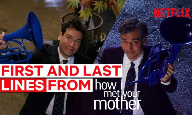 The First And Last Lines Spoken In How I Met Your Mother | Netflix