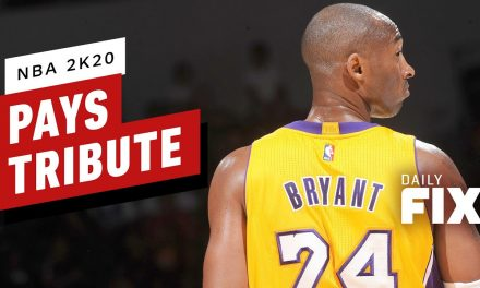 NBA 2K20 Players Pay Tribute to Kobe Bryant – IGN Daily Fix
