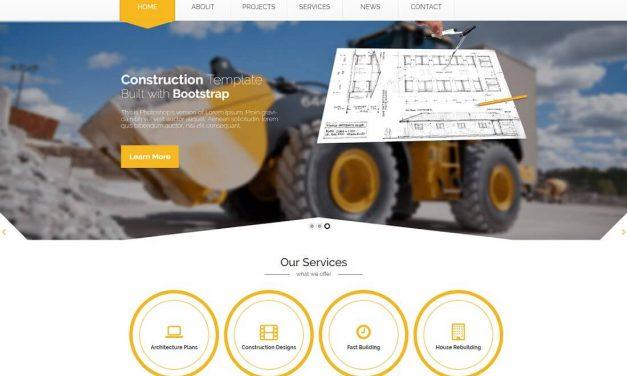 26 Best HTML Construction Company Templates 2020