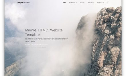 26 Best Minimal HTML5 Website Templates To Create a Simple Yet Professional Website 2020