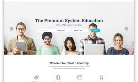 33 Best Premium & Free Education Website Templates 2020