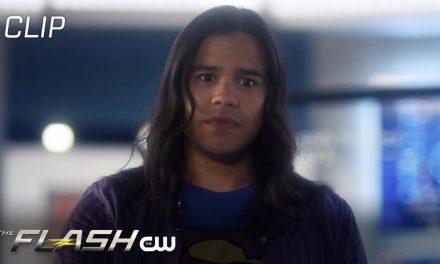 Flash | Season 6 Episode 10 | Nash Locked In The Closet Scene | The CW