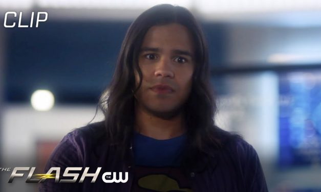 Flash | Season 6 Episode 10 | Nash Locked In The Closet Scene | The CW