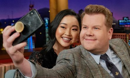 Lana Condor Stalked David Beckham in a Grocery Store, & He Caught Her!