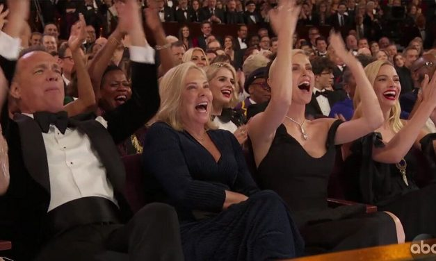 Tom Hanks And Charlize Theron Win Best Oscars Moment By Sticking Up For 'Parasite'