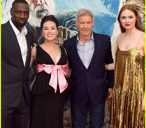 Harrison Ford Joins His Co-Stars at 'The Call of the Wild' Premiere in L.A.