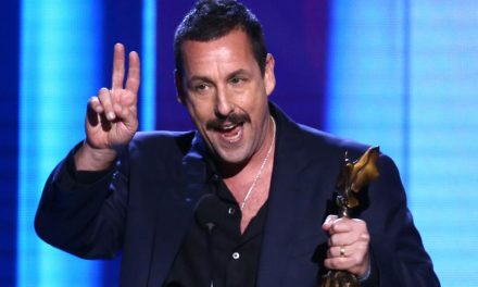 Adam Sandler will not collect an Oscar, but at least he won 'best personality'