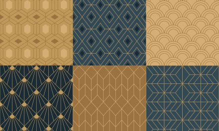 FREE Art Deco Design Pack—Patterns, Borders, Shapes, and More