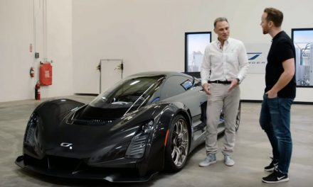 Top Gear Tours The Czinger 21C, An American Hypercar With A Twin-Turbo V8 That Spits X-Shaped Flames