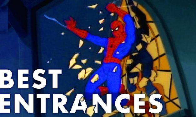 Animated Spider-Man – Best Entrances