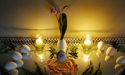 Thrifty Spring Equinox Altar 2020
