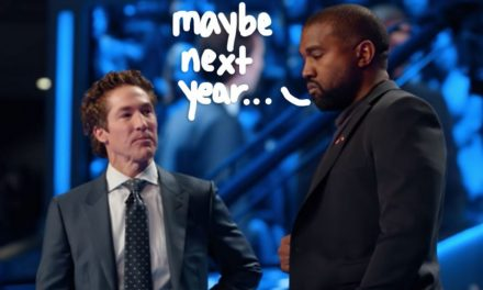 Kanye West To Skip Easter Sunday With Joel Osteen & Stream Virtual Concert Service For Fans Instead!
