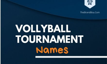 480+ Best Volleyball Tournament Names & Ideas