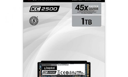 Kingston launches KC2500 M.2 2280 NVMe PCIe Gen3x4 SSD