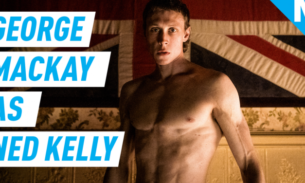 How George Mackay transformed himself into historical outlaw Ned Kelly