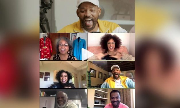 """The Fresh Prince of Bel-Air"" cast gets emotional watching Uncle Phil's best moments"
