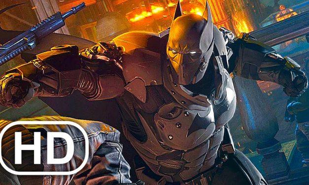 BATMAN Vs SOLOMON GRUNDY Fight Scene Cinematic – Batman Arkham City