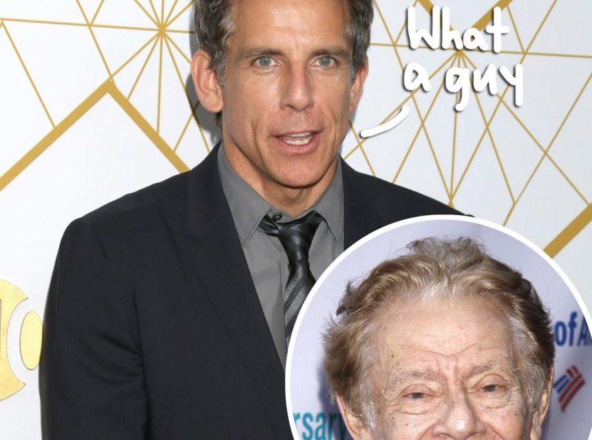 Ben Stiller Reveals How Jerry Stiller Spent His Final Days & Shares Touching Memories Of His Father