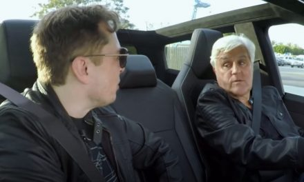 Jay Leno And Elon Musk Go For A Spin In Tesla Cybertruck, Production Model Will Be 5% Smaller