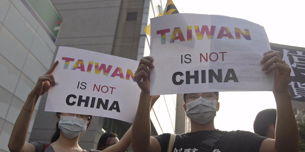 China says non-peaceful action on Taiwan is last resort