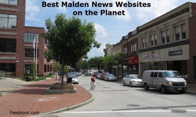 Top 3 Malden News Websites To Follow in 2020 (City in Massachusetts)