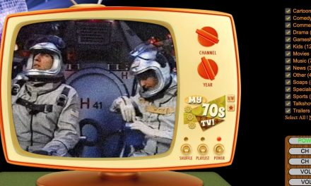 Watch TV From The 70s, 80s, & 90s On This Cool Retro Website