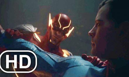 JUSTICE LEAGUE Flash Vs Future Superman Fight Scene Cinematic – Injustice 2