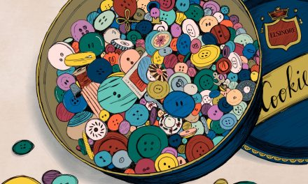 She Bought a Tin of Buttons at an Auction, Little Did She Know It Would Be a Window into a Neighbor's Heart