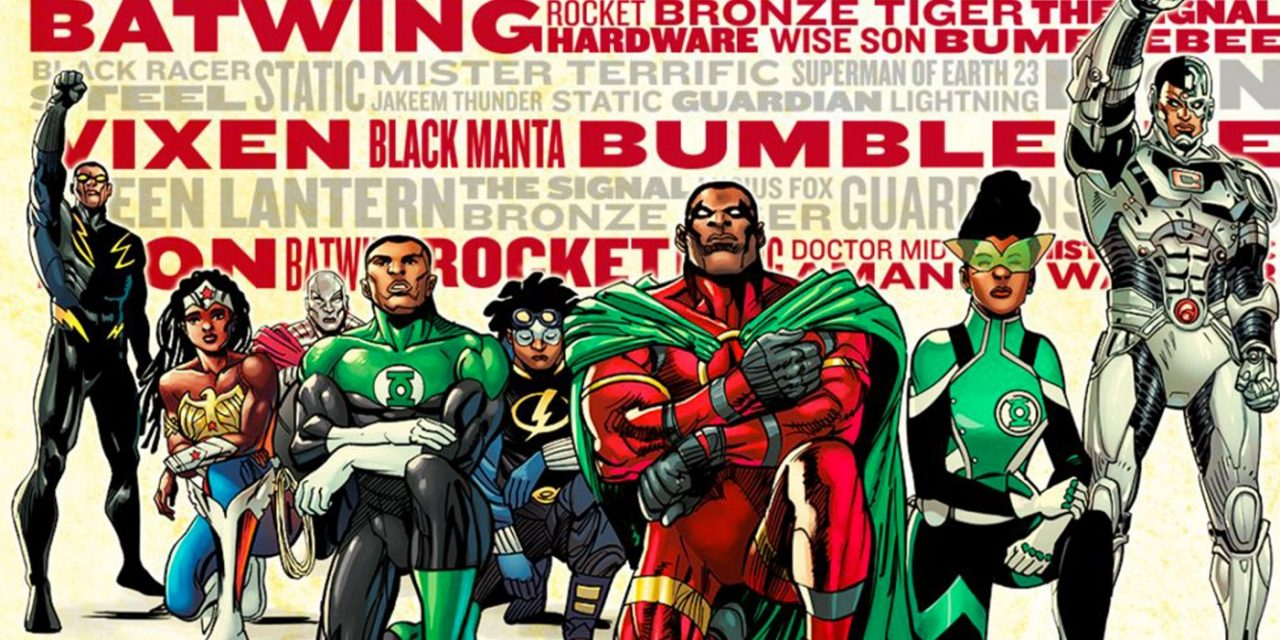 The Black Heroes of DC's Universe Unite on Juneteenth