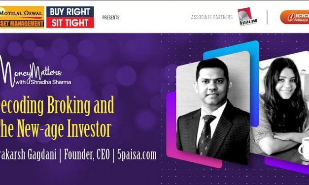 5paisa.com Founder and CEO Parkarsh Gagdani speaks about new trends in Fintech and India's interest in investments