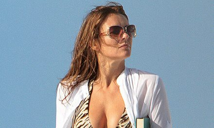 Elizabeth Hurley, 55, Proves She's The Bikini Queen Of Summer In New Striped Look Plus More Her Best Pics